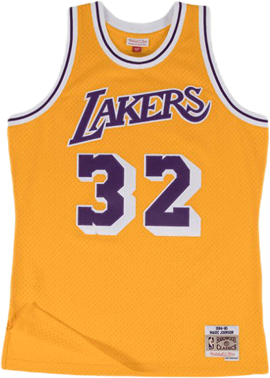 Los Angeles Lakers 84-85 Magic Johnson