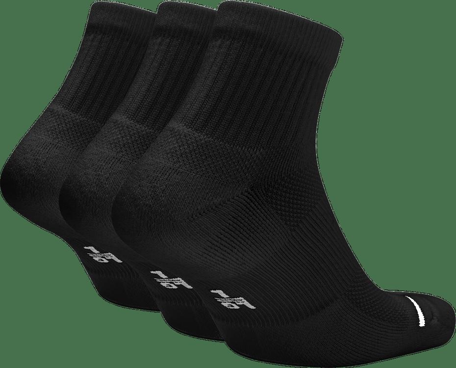 Everyday Max Ankle 3Pr Black/Black/Black