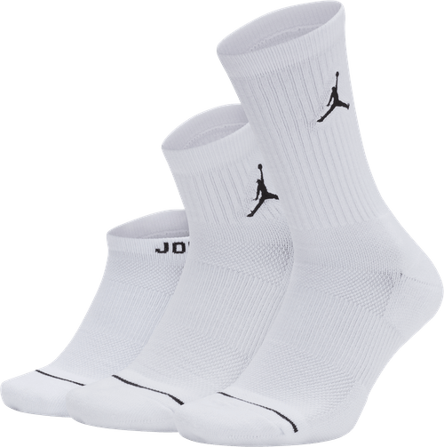 Unisex Waterfall Socks White/White/White
