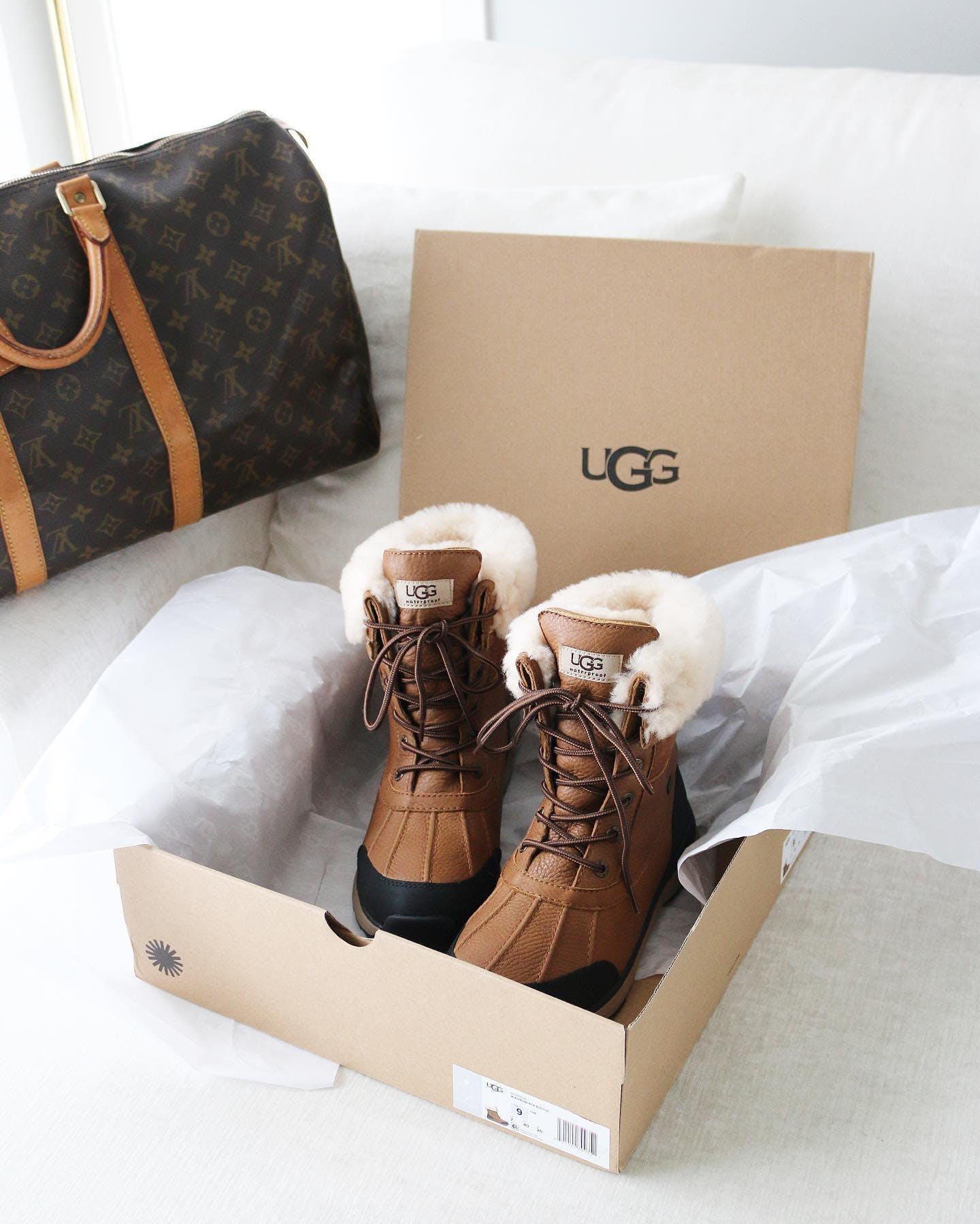 Kjøp UGG Adirondack Boot II Otter sko Online | FOOTWAY.no