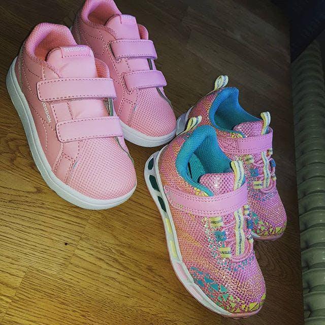 Dirt Billige Lyserød Lilla Sneakers Str UK 3 5 REEBOK ROYAL