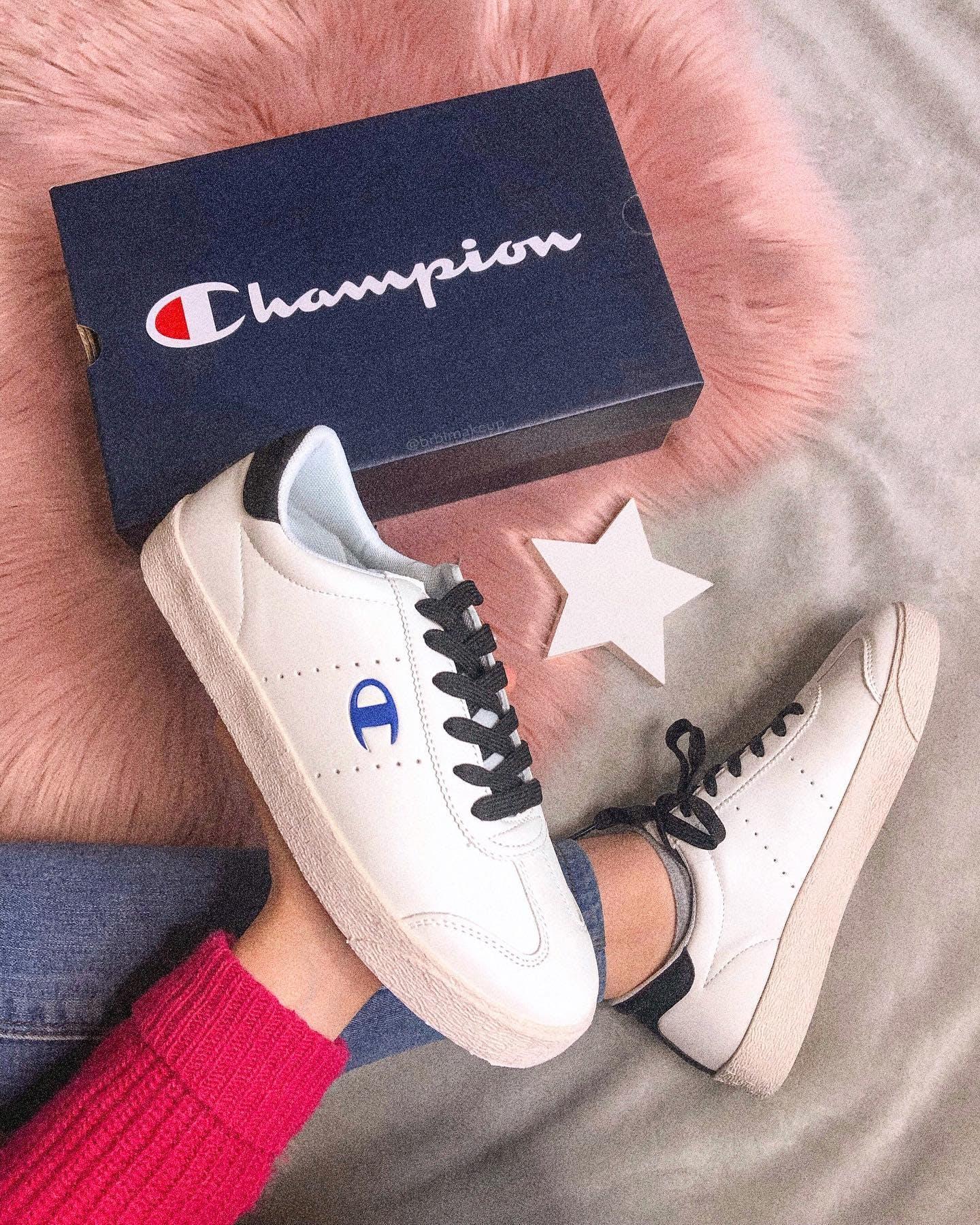 Køb Champion Low Cut Shoe Venice Pu Whiteblack Sko Online