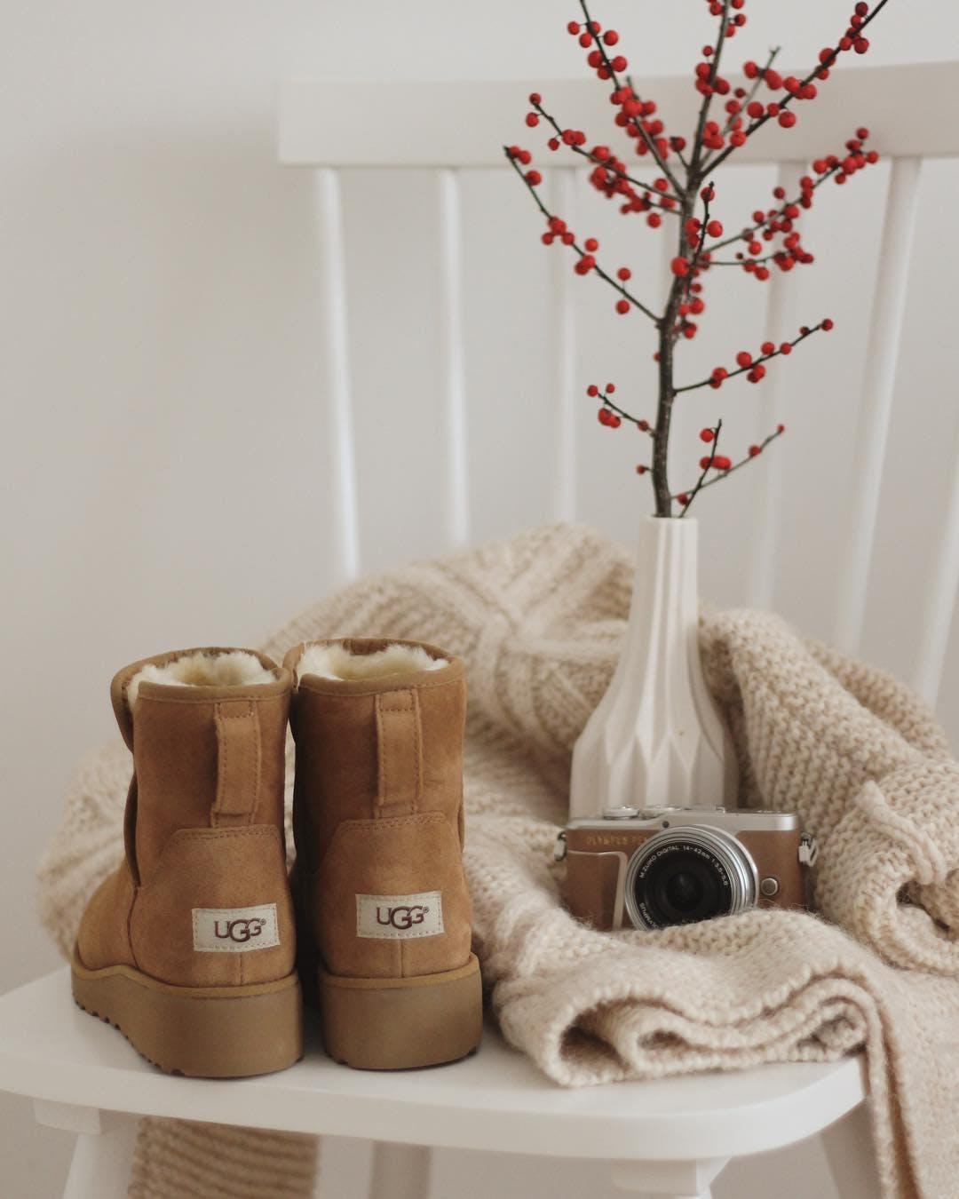 Kjøp UGG Kristin Black sko Online | FOOTWAY.no