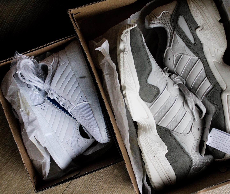 adidas Originals Sko PW Tennis HU PK Chalk WhiteCore