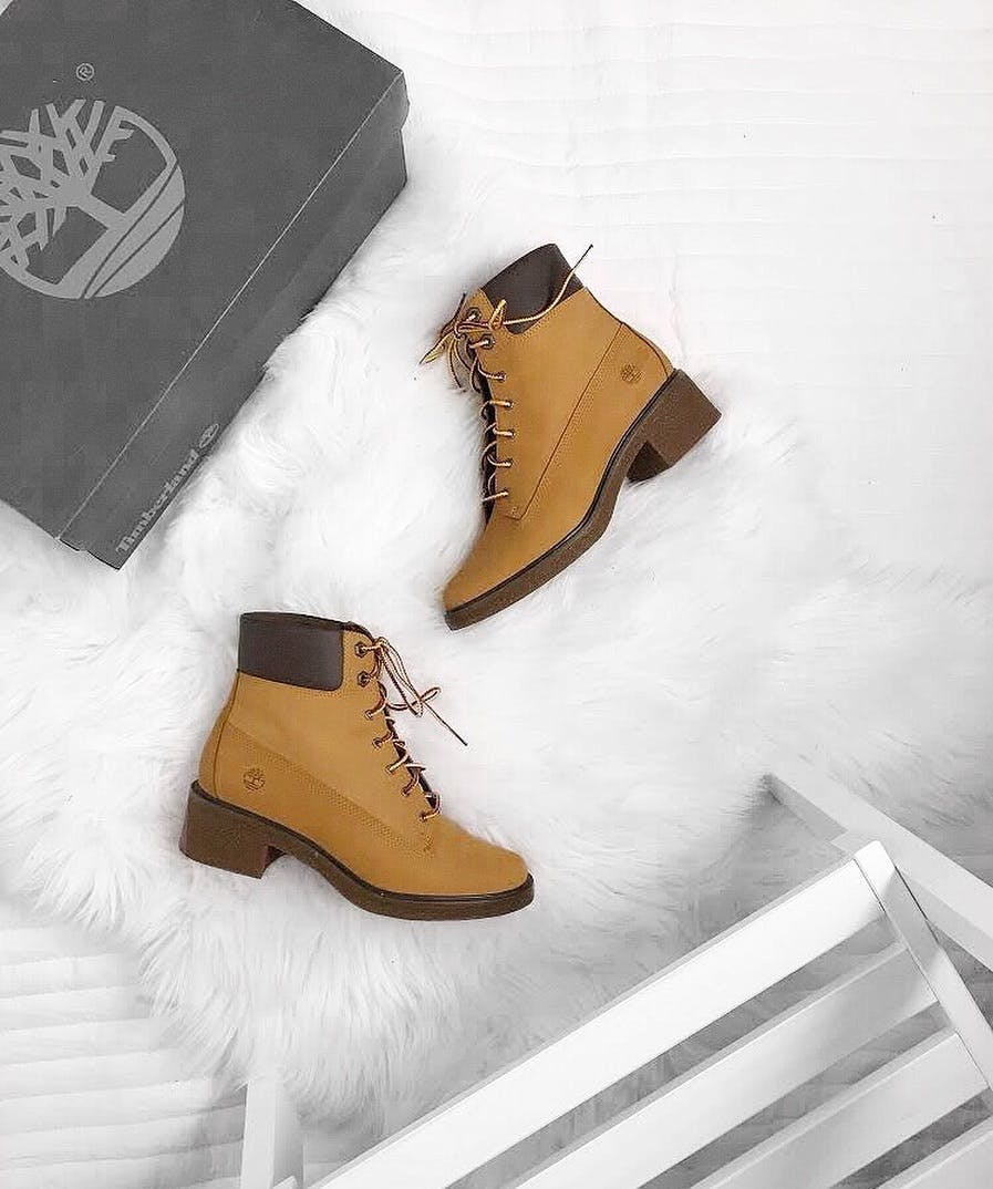 Brinda 6in Lace Up Wheat Nubuck