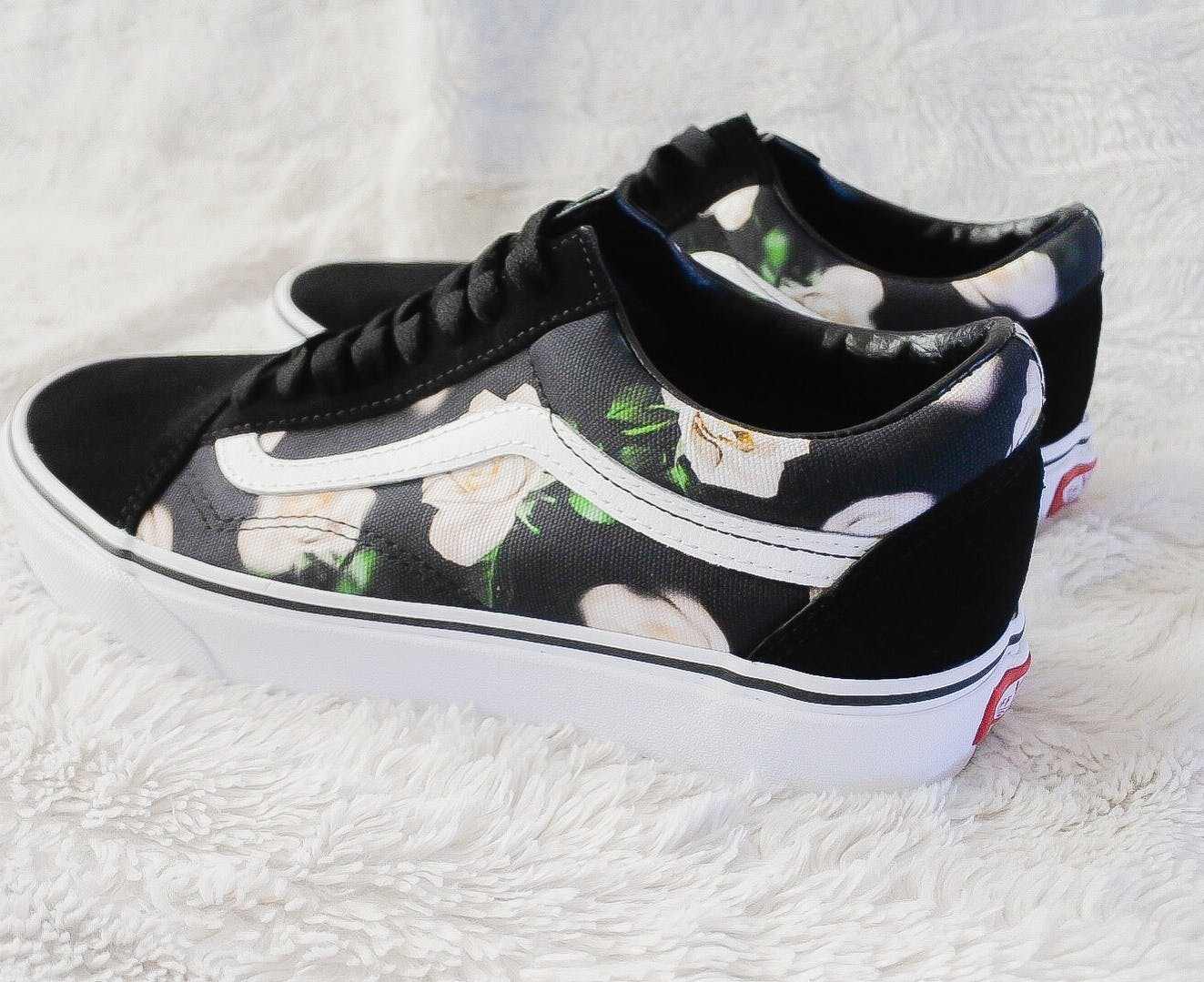 Kup Vans Ua Old Skool (romantic Floral) Blackt czarny Buty