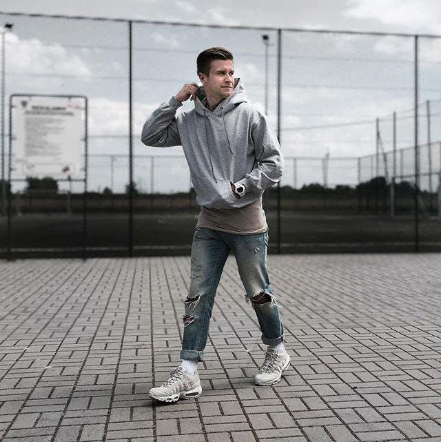 Kjøp Nike Nike Air Max 95 Premium Light Bonelight Bone