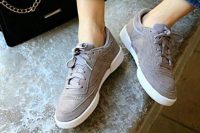 CLUB C 85 NBK Sneaker low opalwhite | Sneakers