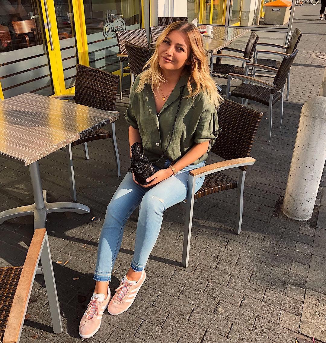 Köp adidas Originals Gazelle Vapour Pink F16WhiteGold Met