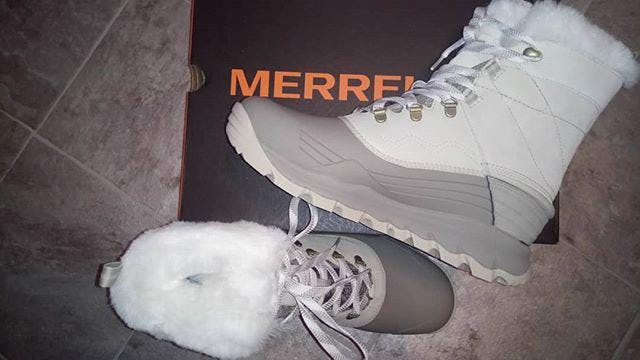 NEW Merrell Womens 10 41 Terran Post ll Toe Wrap Sandals Taupe Leather Low Heel