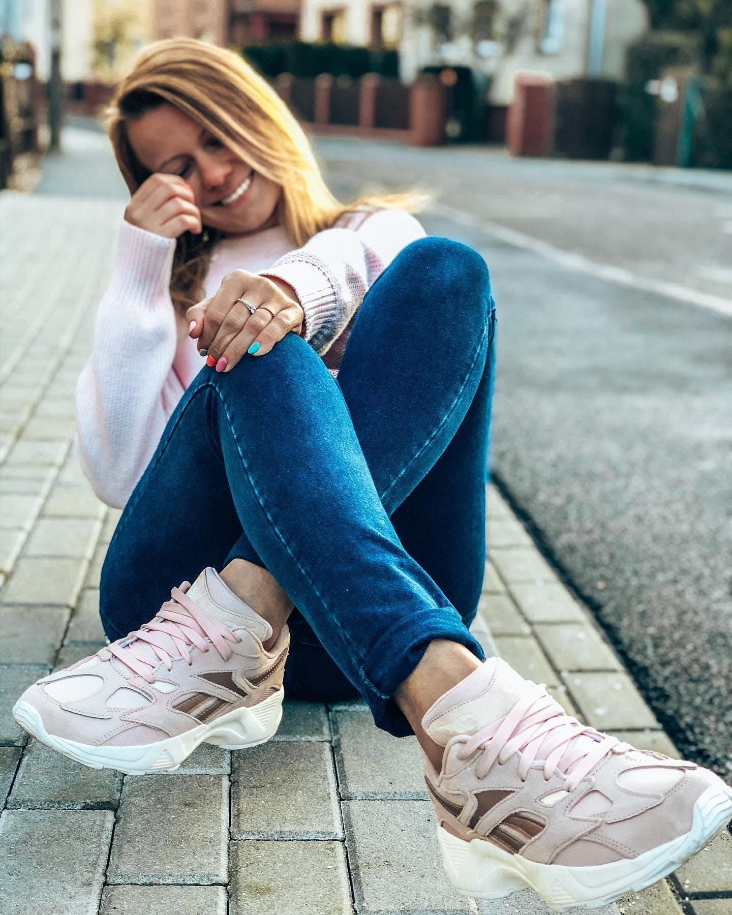 Nye Reebok Classic Nylon Cold Pastel Dame Sko Kjøpe På