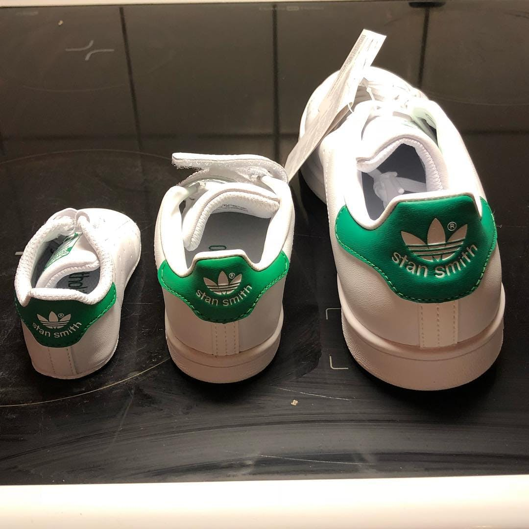 Koop adidas Originals Stan Smith J Ftwr WhiteGreen Schoenen