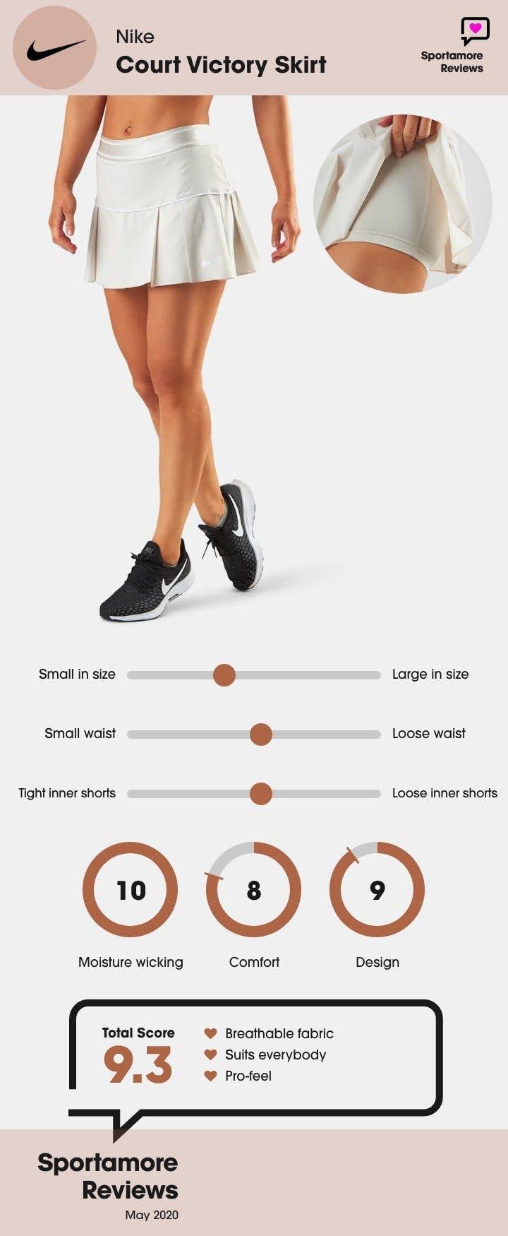 Nike tenniskjol