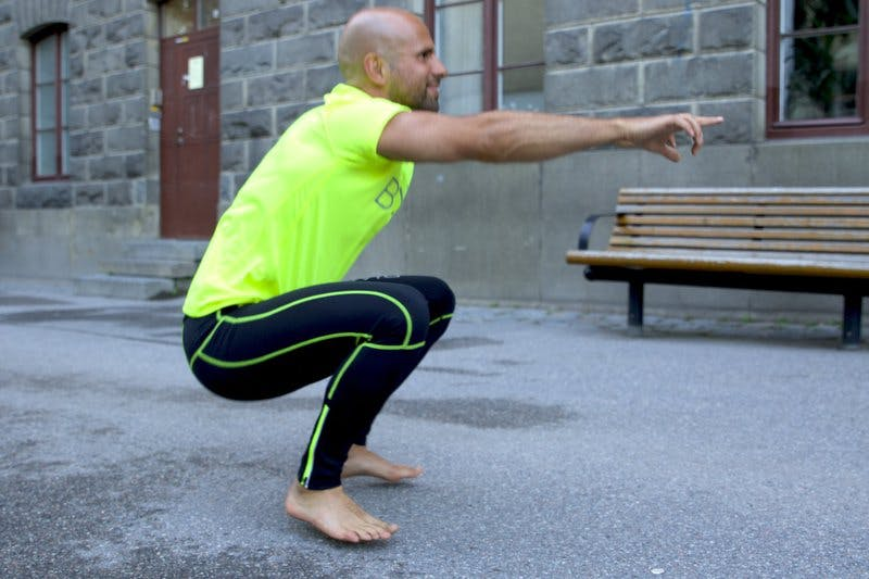 dynmaisk squat