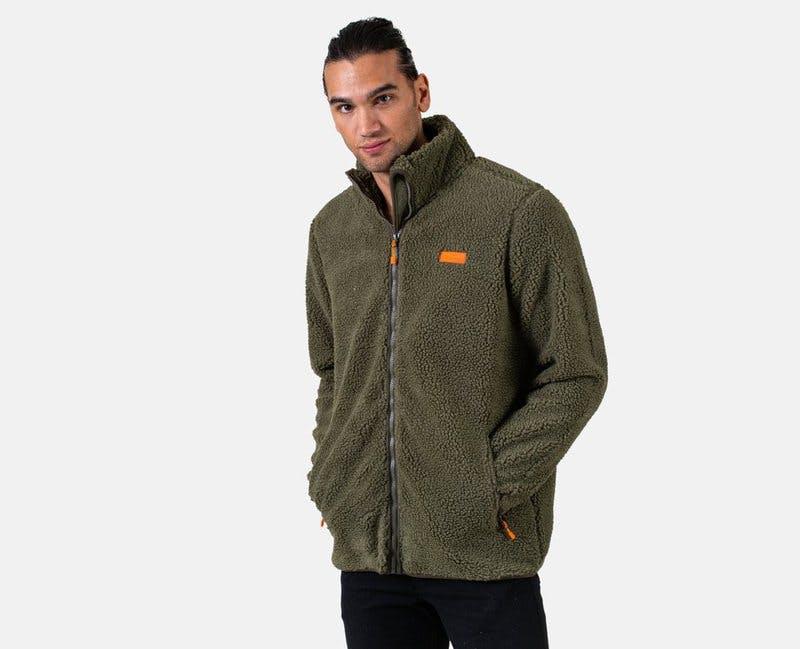 mountain pile jacket scandi nomad